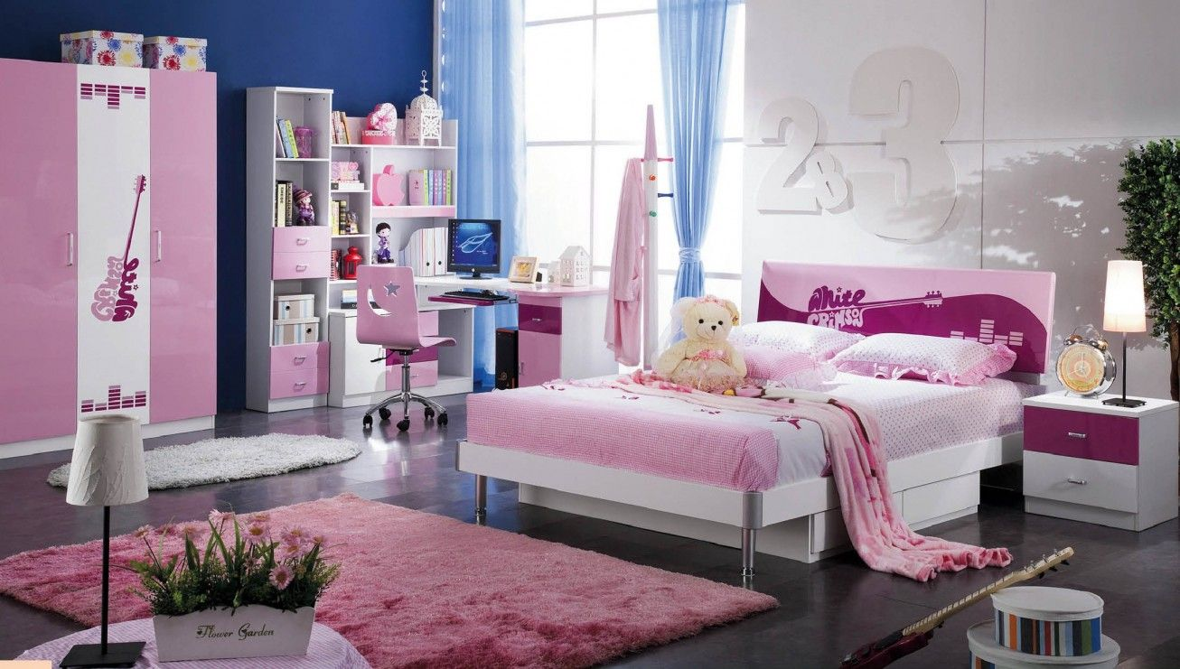 Surprising Teen Bedroom Sets With Modern Bed Wardrobe