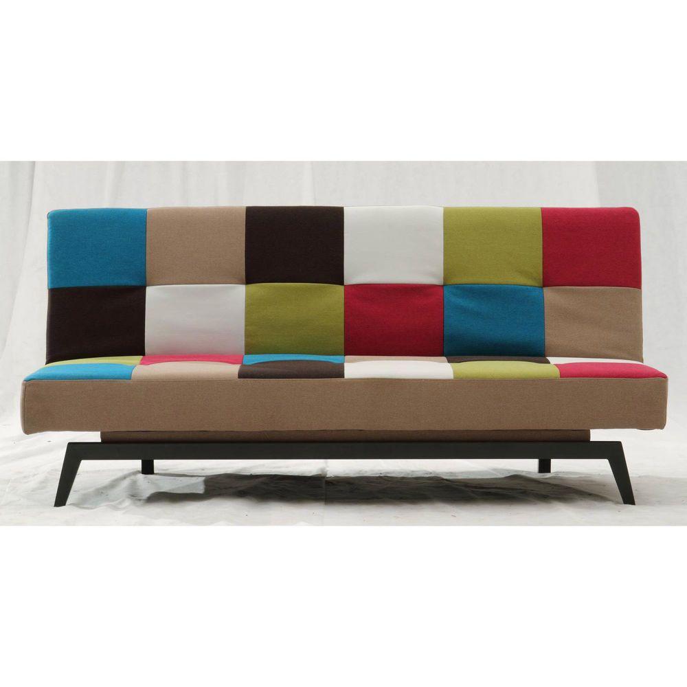Beeindruckend Schlafcouch 140x200 Beste Wahl Schlafsofa Funktionssofa Klsuperbsofa Gästebett In Multicolour Bunt