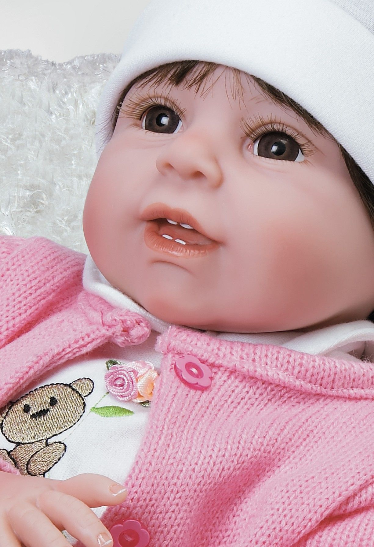 Beary Cute by Jannie de Lange Realistic baby dolls, Baby