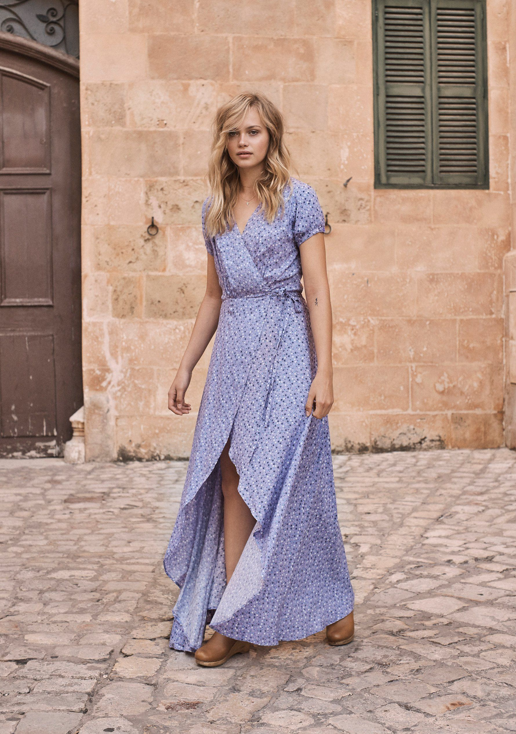 b0643f0f0e09 Daphne Easy Days Wrap Maxi Dress Lavender | Auguste The Label ...