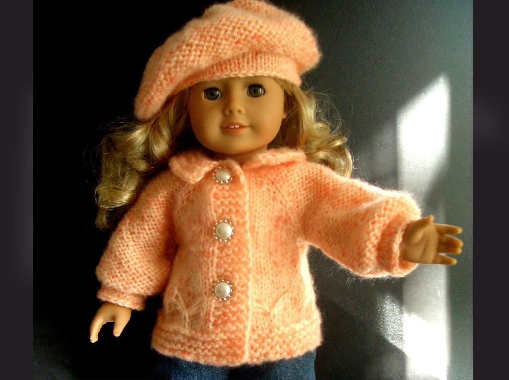 cool knitting PATTERN American Girl doll | Poppenkleedjes ...