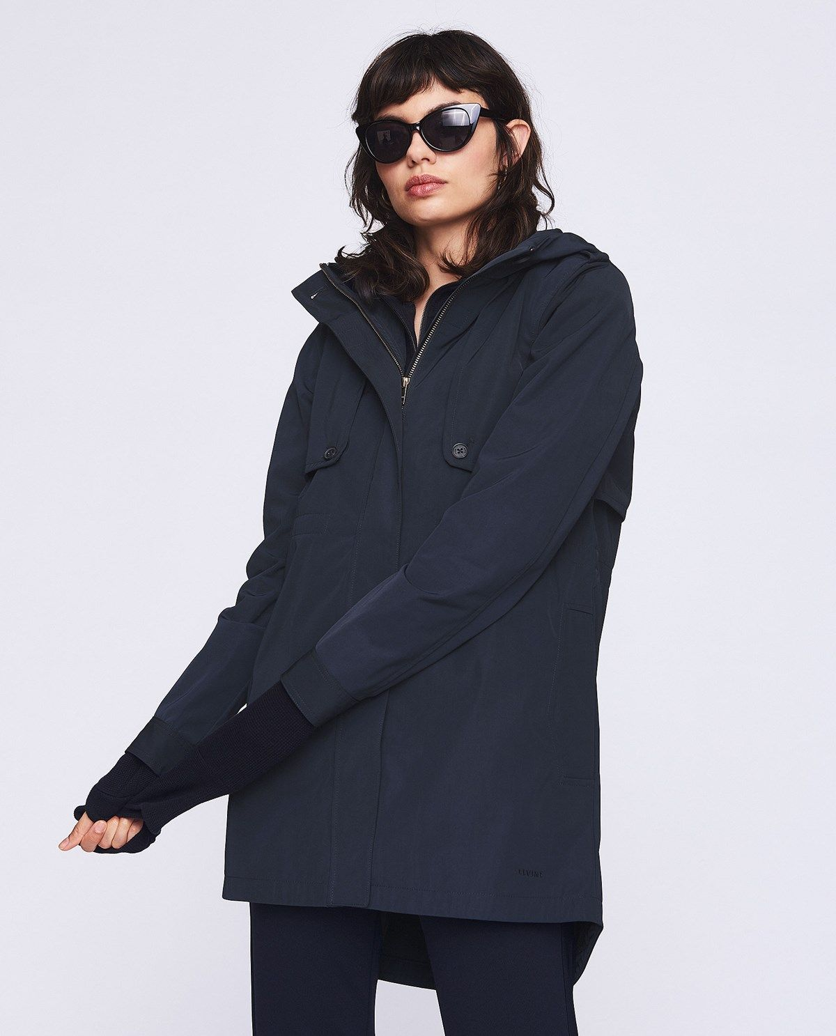 Brenda Dark Navy | Trench coats, Parkas, Catwalk