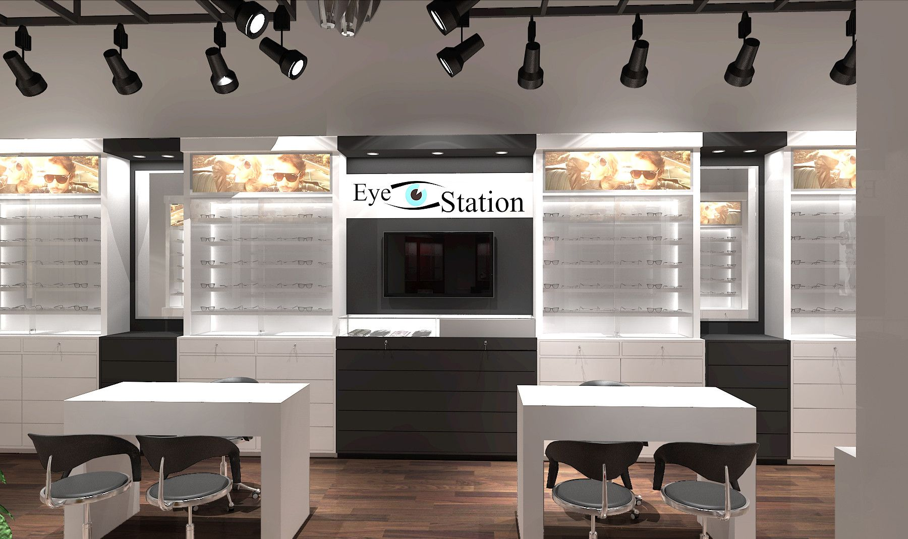 optical showroom interior design   optical showroom interior design ... 1fe9bf5ac1d6