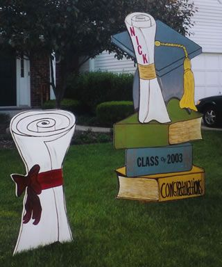 Graduation lawn signs | Graduation signs, Lawn sign ...