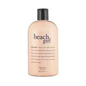 Philosophy Beach Girl Can Be Used As Shower Gel Shampoo Bath Bubbles