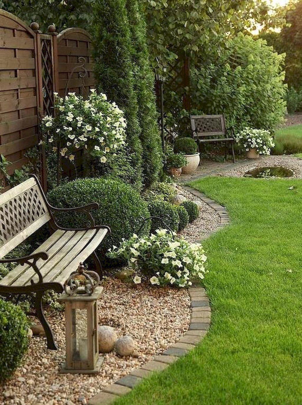 Backyard garden in usa