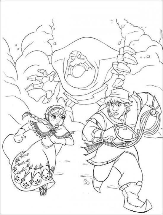 35 FREE Disney\'s Frozen Coloring Pages (Printable) / 1000+ ...