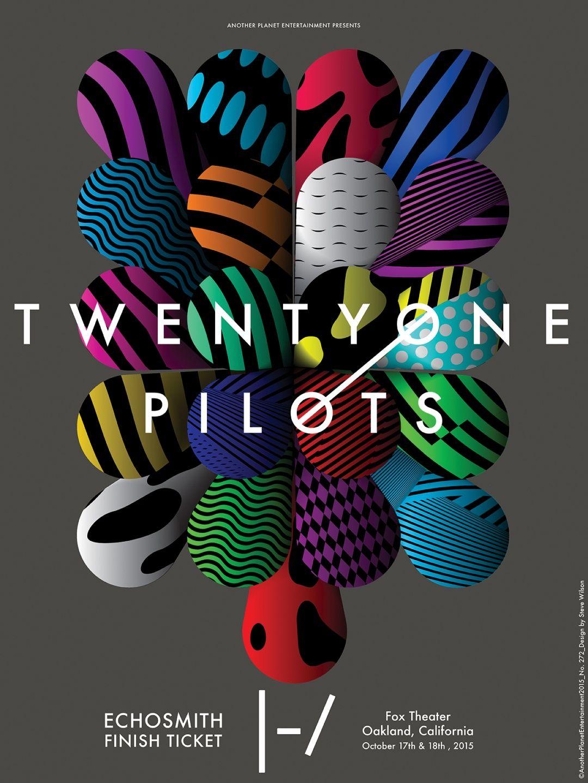 Steven Wilson Posters The twenties, Pilot, Twenty one