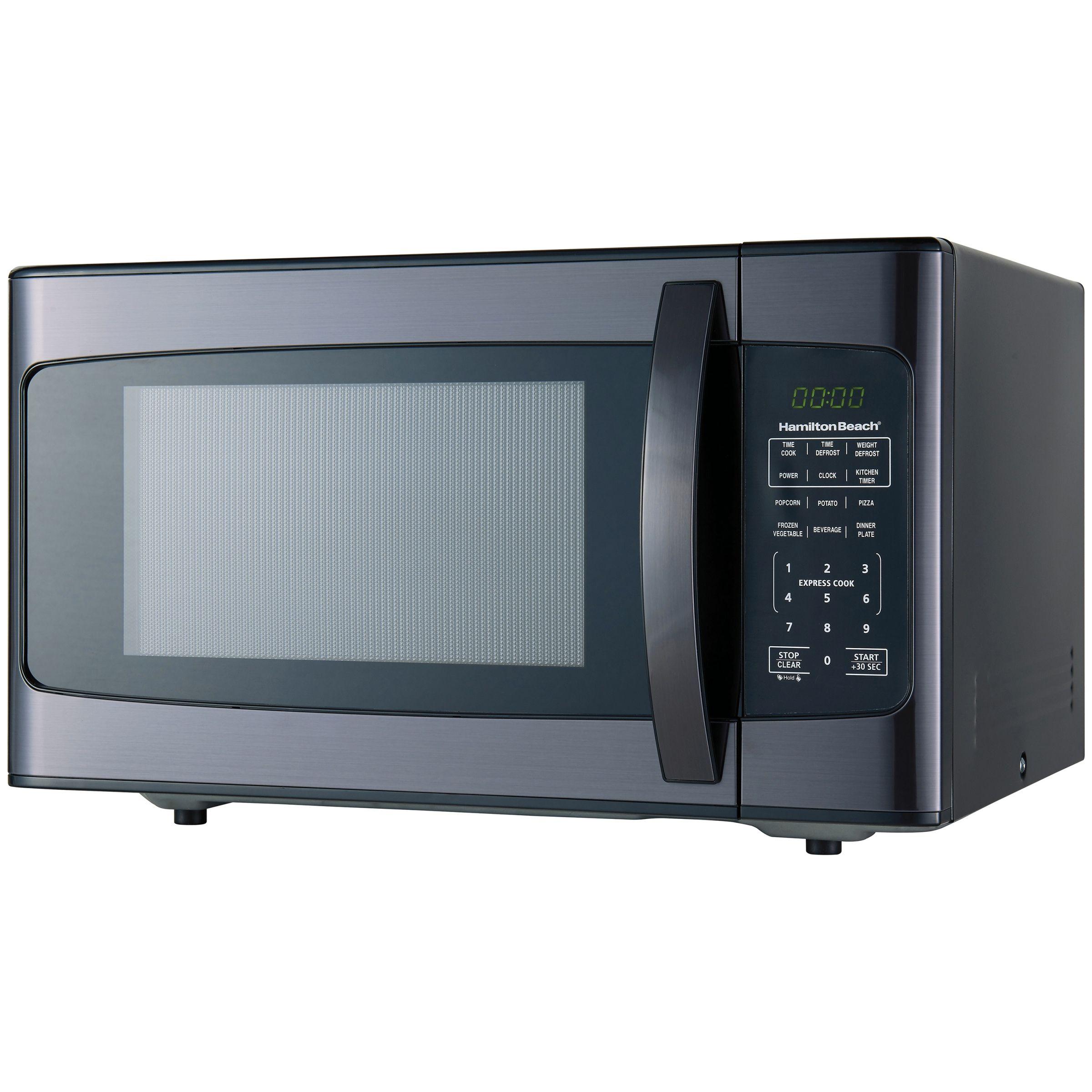 Hamilton Beach 1 1 Cu Ft 1000 Watt Microwave Stainless Steel Cu Ft Hamilton Stainless Steel Oven Stainless