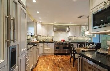 White And Off Kitchen With Stainless Steel Appliances From Miami Design Magazine January