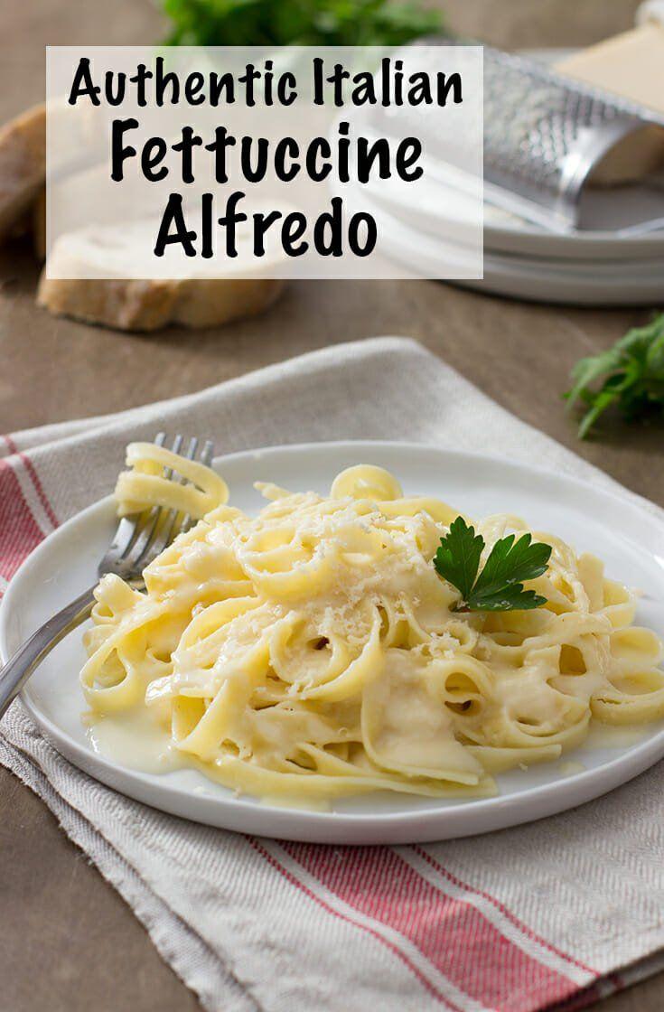 Photo of Authentic Italian Fettuccine Alfredo