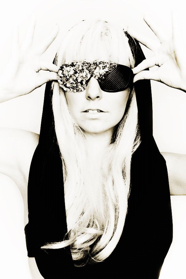 Beth McGarry as 'GAGA' | Sunglasses women, Women, Sunglasses