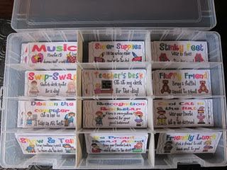 Behavior coupons- alternative to candy and treasure box. Kids can only get one of each until they've had all of them, then they can start over and re-pick a favorite