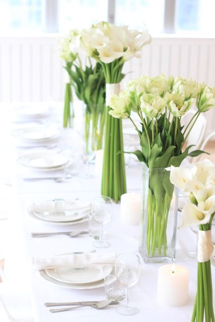 Elegant green and white wedding centrepiece of the best faux flowers these stunning blooms are the most realistic artificial flowers great for any wedding or bridesmaids gift amaranthineblooms mightylinksfo