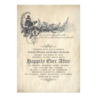 fairytale wedding invitations Google Search Wedding Invitations
