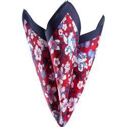 Photo of Olymp men accessories handkerchief, silk, red-navy patterned olympymp