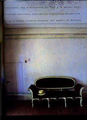 interior divine: An Italian interior: Villa Tigliano, near Florence