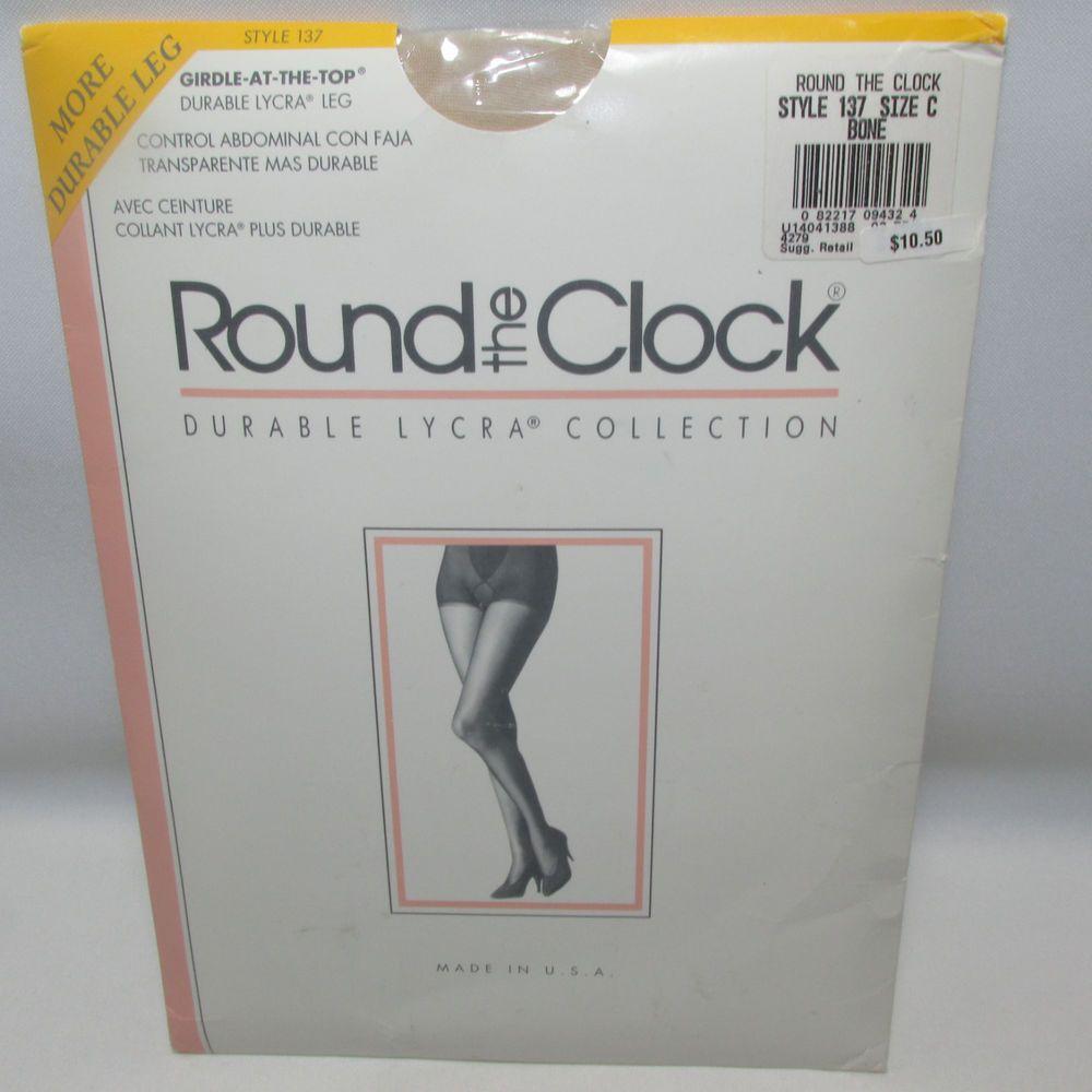 Round the clock pantyhose