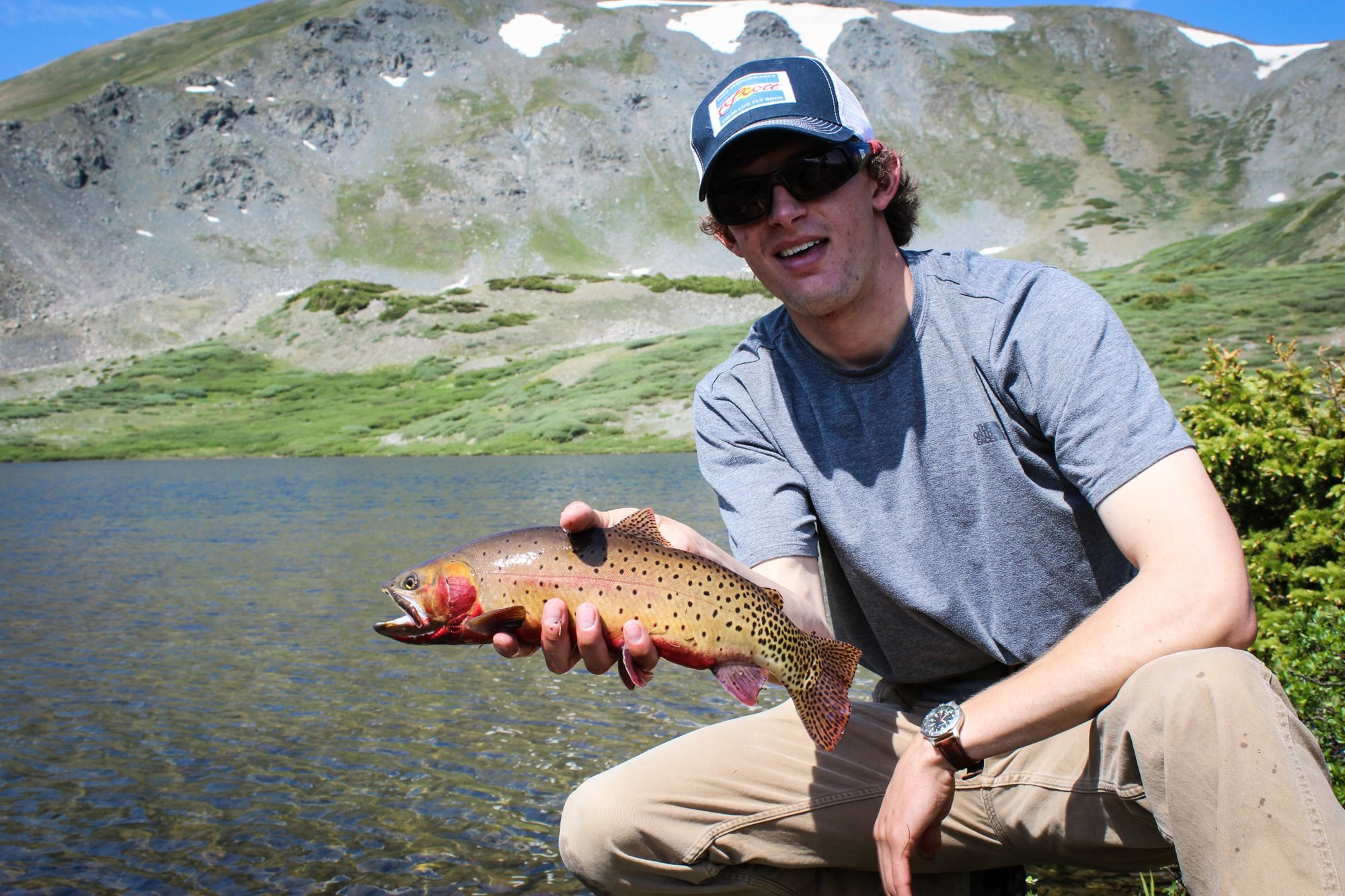 Fly Fishing at Ptarmigan | Deer Valley Ranch | Fish, Fly ...