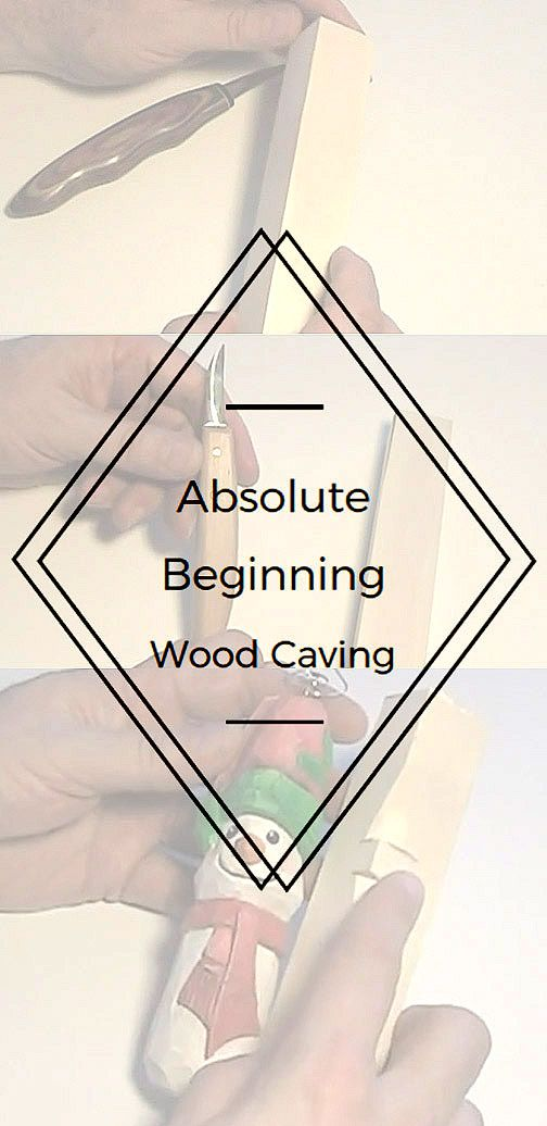Absolute beginning wood carving let s learn how to carve for Best wood to carve with