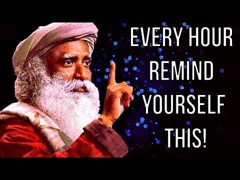 Sadhguru - Just do this before you go to bed !