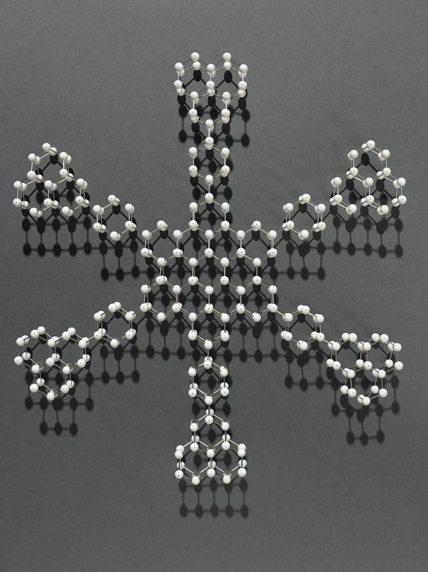Miramodus Molecular Model Of A Snowflake National Museums