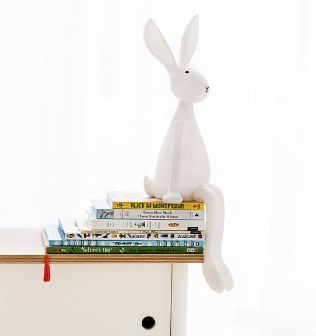 Lamp konijn joseph van Rose in april  baby  Bunny lamp