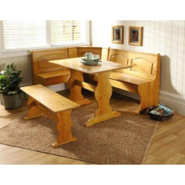 Fabulous Linon Chelsea Dining Nook Decor Kitchen Breakfast Nooks Spiritservingveterans Wood Chair Design Ideas Spiritservingveteransorg