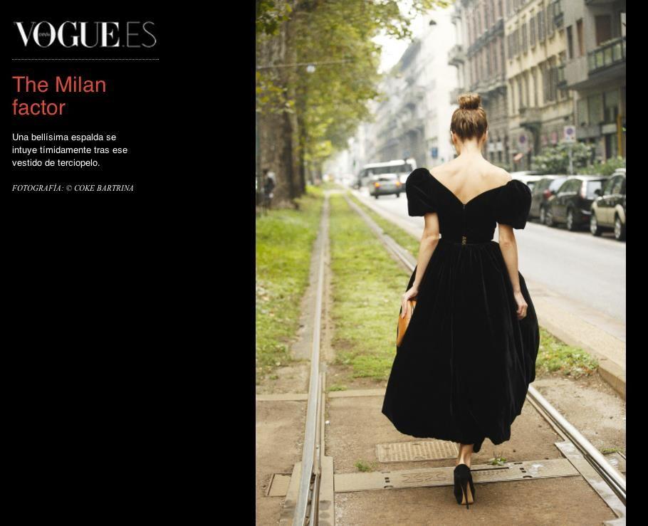 Ulyana at Dolce & Gabbana in Milan