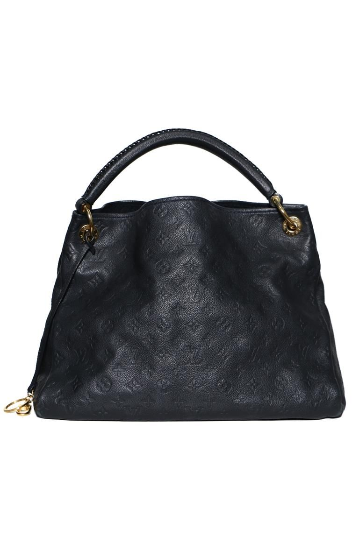 6ccef458452f2 Authentic Preowned Louis Vuitton Bleu Infini Monogram Empreinte Leather  Artsy MM Bag
