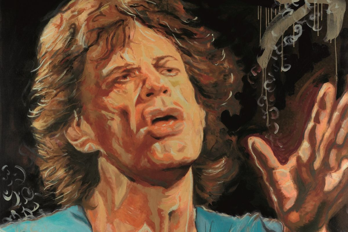Quot The Blue Smoke Suite Quot Artwork By Ronnie Wood Ronnie