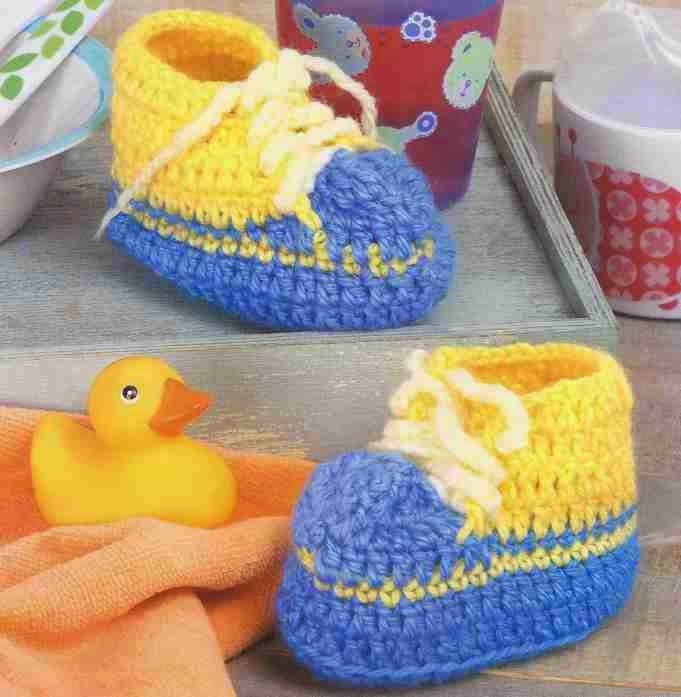 Tenis de Bebé a Crochet | Ropa niños | Pinterest | Tenis, Bebé y Dos ...