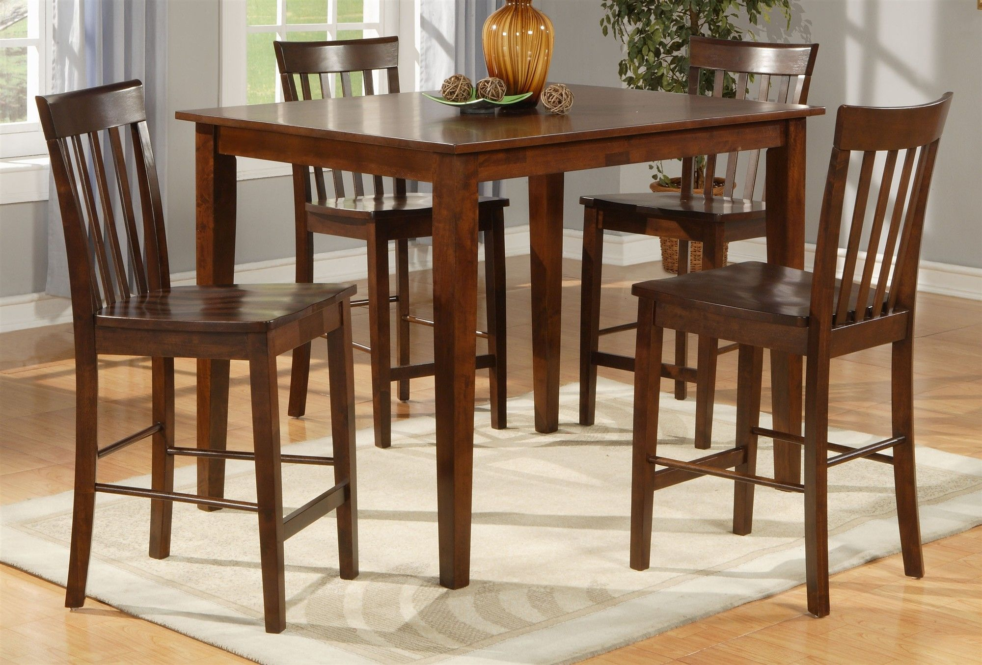 Bust Of Square Dining Table For 4