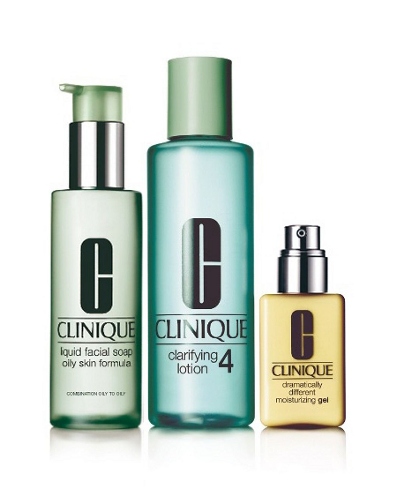 Clinique 3 Step Skin Type 4 Clinique 3 Step Beauty Macy S Skin Care System Clinique Skincare Skin Care Tips