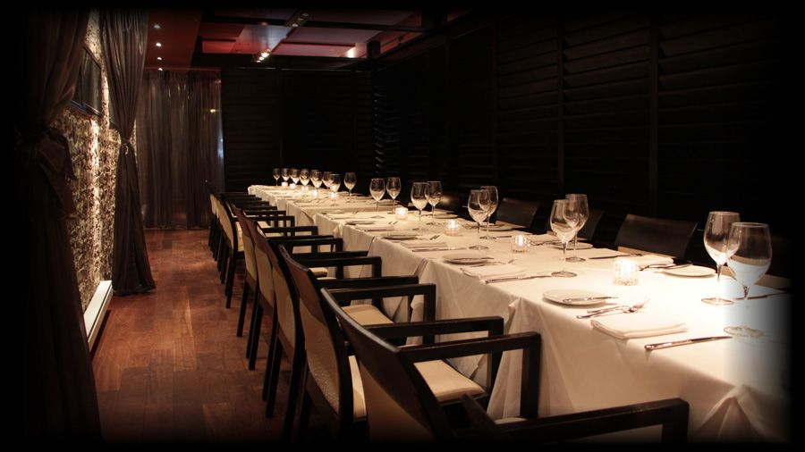 The Main Eating Place Is Stylishly Given An Impetus By The Linen And Wooden Bistro Chairs Beside Best Restaurants In Toronto Private Dining Toronto Restaurants