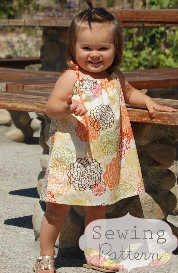 Chloe Drawstring Top Dress (Sizes 6/9 months to 6) PDF Sewing ...