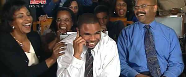 With the No.31 pick the TB Buccaneers select Doug Martin