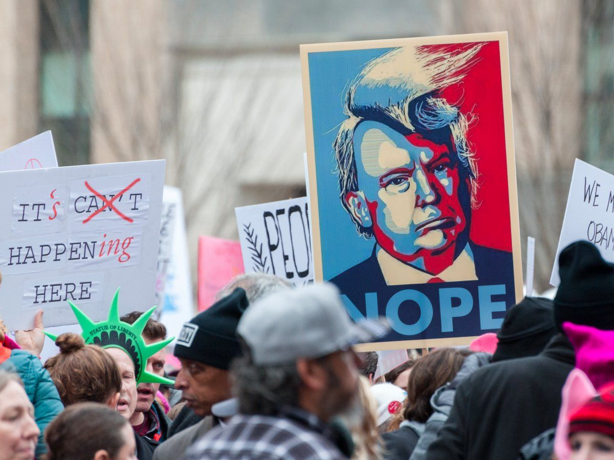53 Of The Most Eye Catching Protest Signs We Saw At The Women S March On Washington Womens March Protest Signs Women