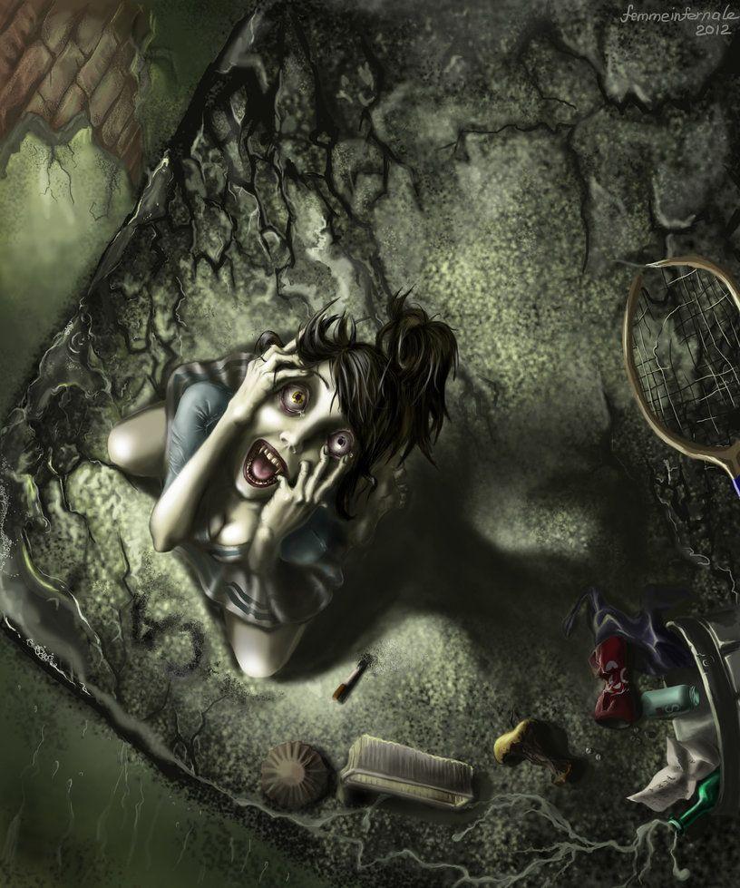 Vtmb Catatonia By Femmeinfernale On Deviantart Vampire The Masquerade Bloodlines Beautiful Dark Art Masquerade