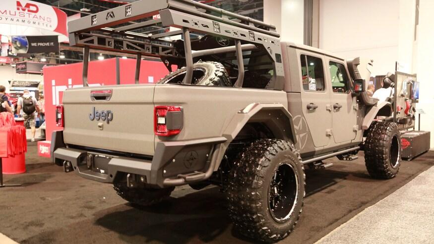 Mega Gallery The Custom Jeep Gladiator Jt Builds Of Sema 2019