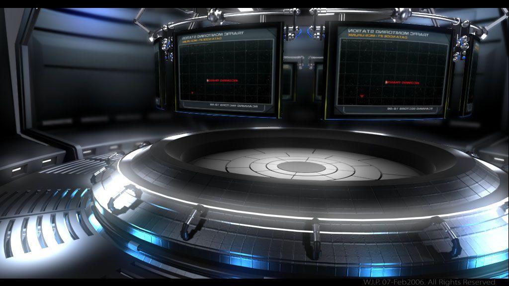 Sf control room google sf pinterest sci fi for Futuristic control room