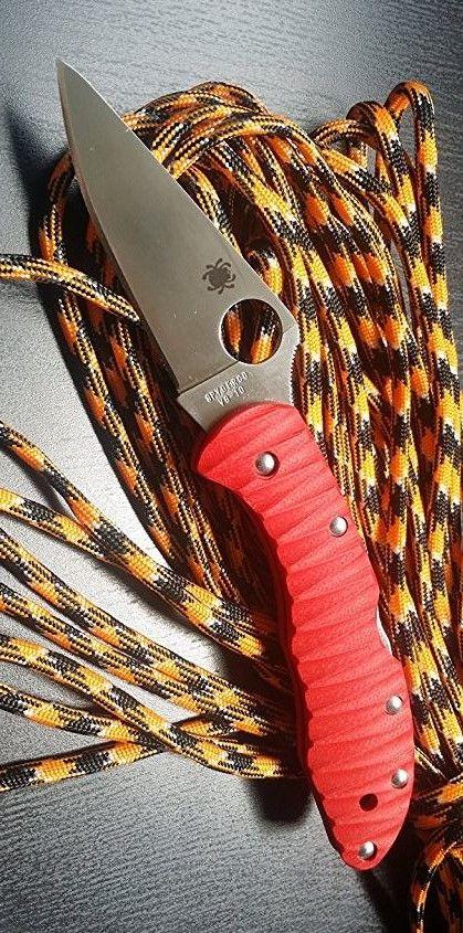 Aramisknives Spyderco Delica 4 Custome Scale Work, handle