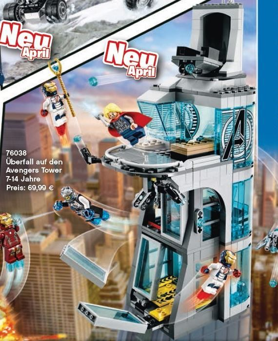LEGO Marvel Super Heroes: Avengers: Age of Ultron ...