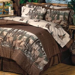 Whitetail Dreams Deer Comforter Bedding Set Comforter Sets Bedding Sets Twin Comforter Sets