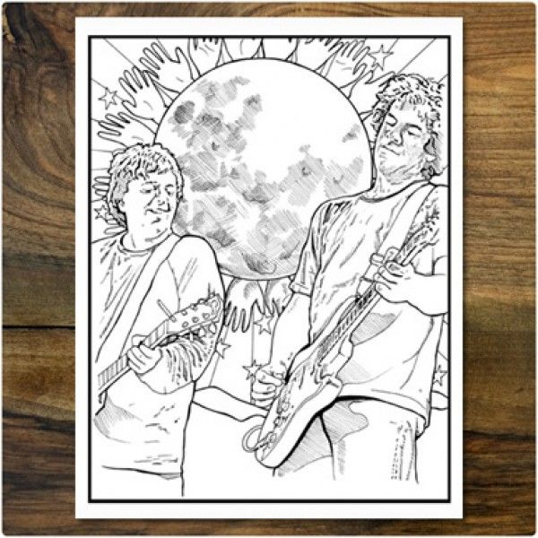 THE WEEN COLORING BOOK | Brown | Pinterest | Coloring books and Books