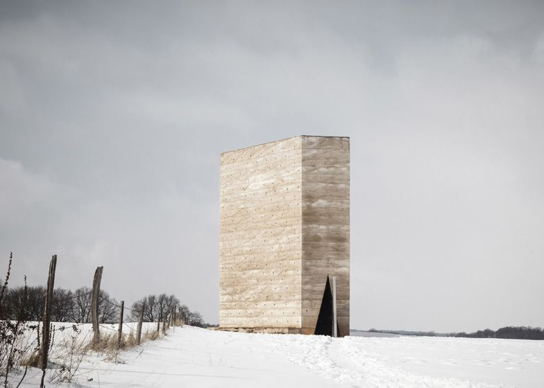 Bruder Klaus Field Chapel by Peter Zumthor photographed
