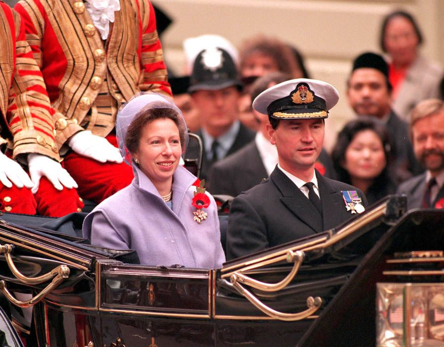 Sir Timothy Laurence birthday Princess Anne and her