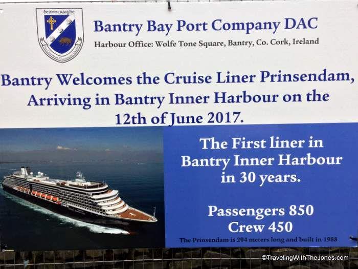 Prinsendam First Cruise Ship In Bantry Ireland In Years - Cruise ship ireland
