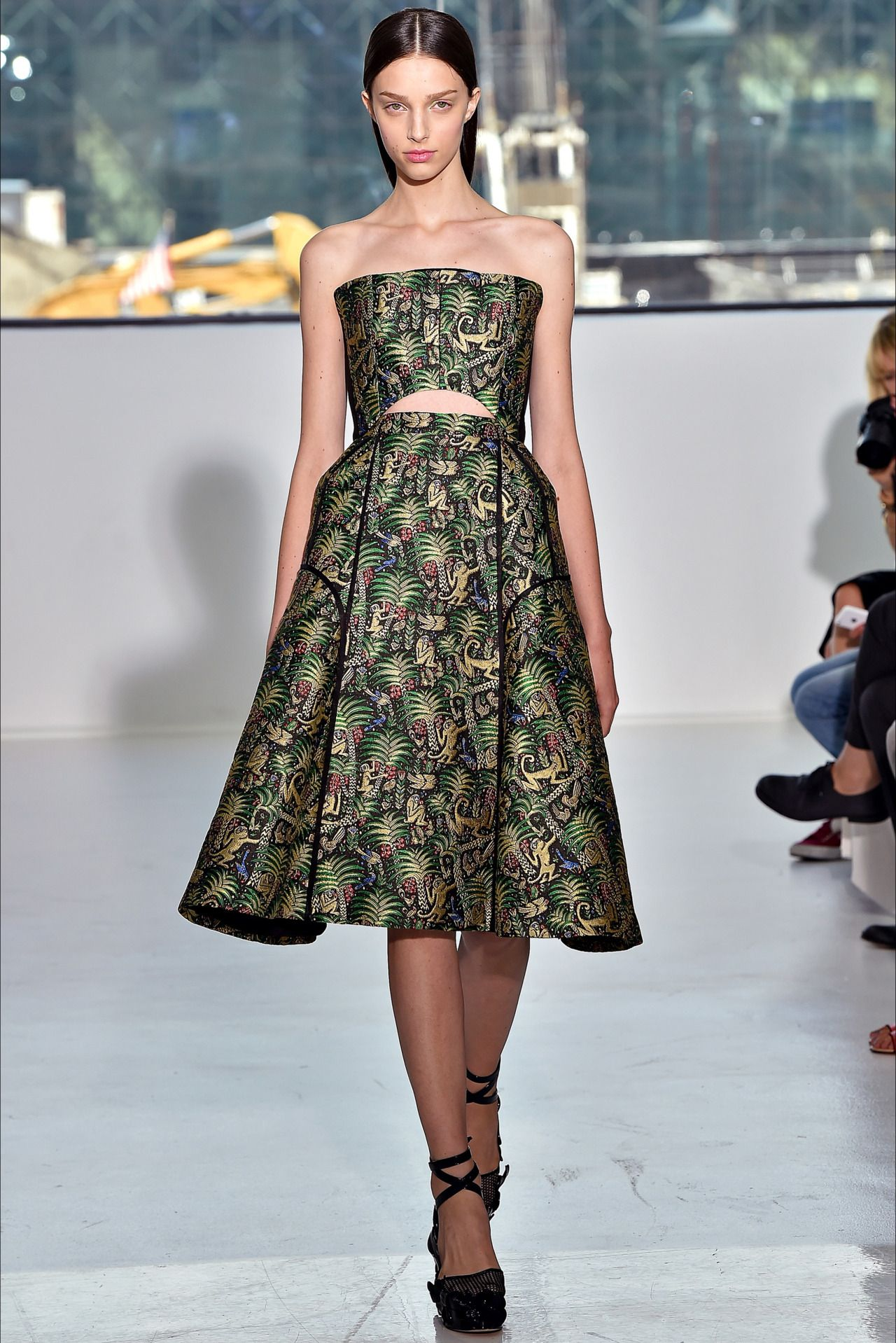 Larissa Marchiori @ Delpozo S/S 2015, New York | model mofos