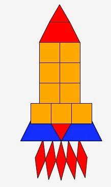 Pattern Block Rocket Template Google Search Pattern Block